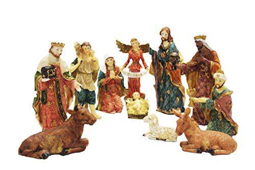 Christmas nativity set 6 inch crib set jesus kart buy christian christmas nativity set 6 inch crib set christmas nativity sets solutioingenieria Image collections