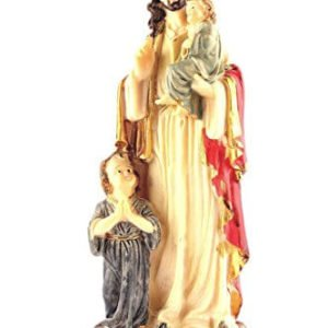 Jesus with Children Statue 6 inch.