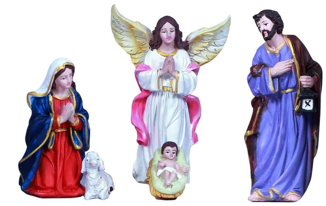 jesuskart 5 inch nativity-set