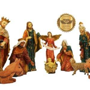 Jesuskart 12 Inch Royal Nativity Set