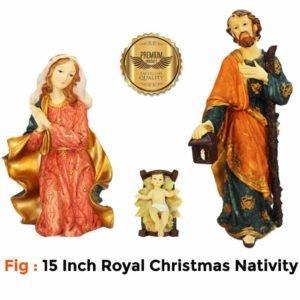 Jesuskart 15Inch Royal Nativity Set-buy online