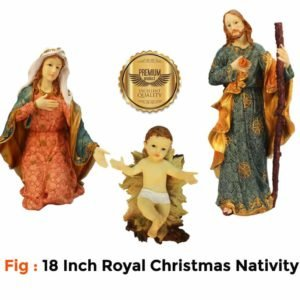 Jesuskart 18 Inch Royal Nativity Set-buy online