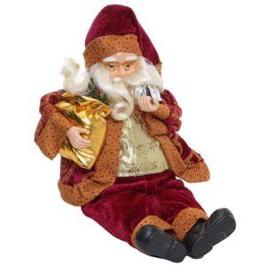 Jesuskart35CM Sitting Santa,Christmas Party Home Decoration (2)