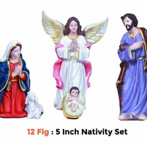 Jesuskart 5 inch christmas nativity-set buy online