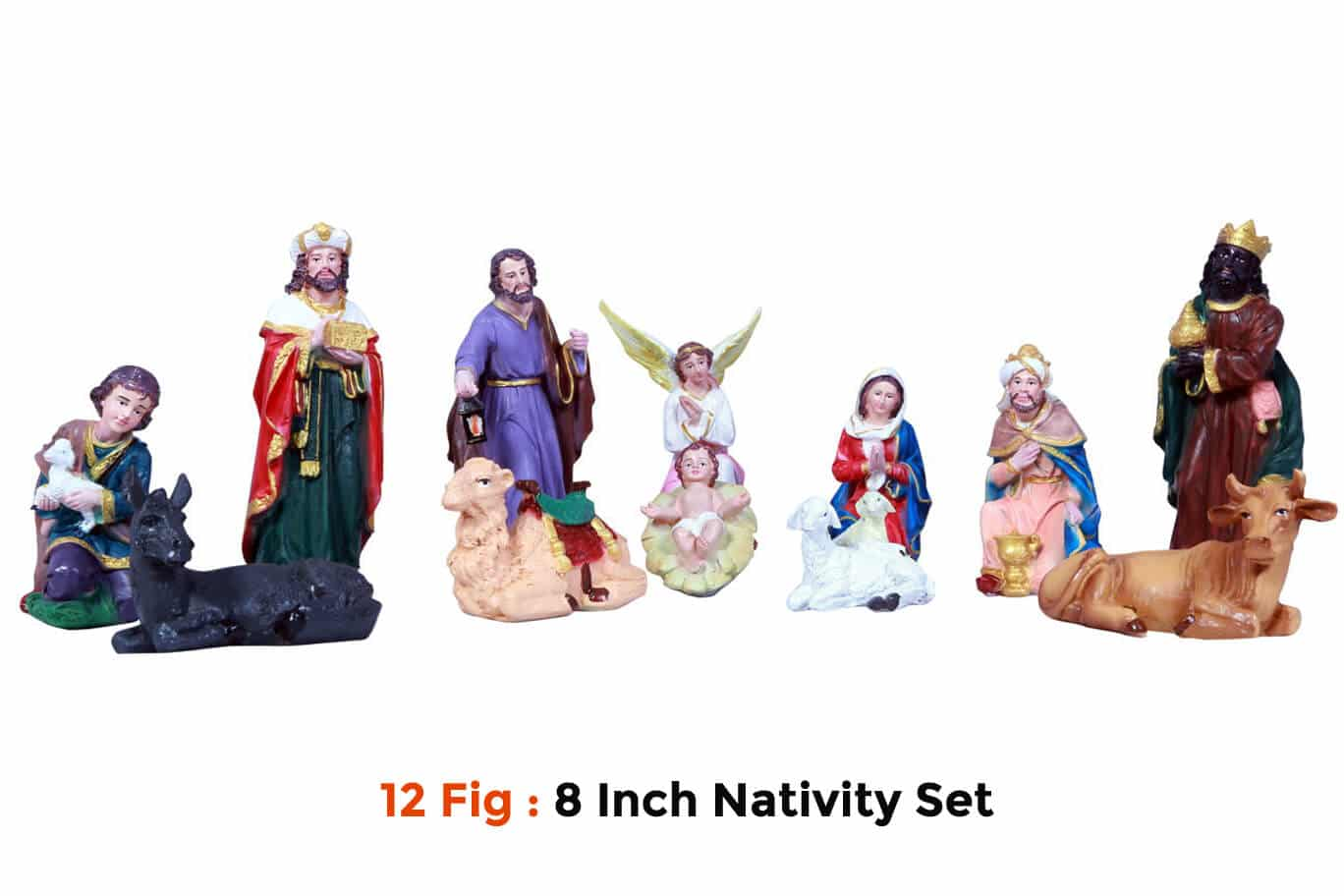 Jesuskart-8 inch-Christmas Nativity statues