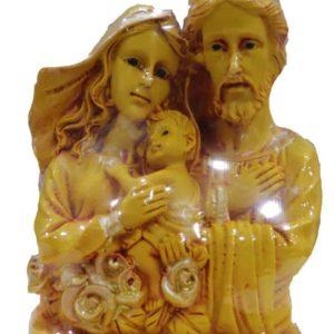 Jesuskart-Holy Family Mat Finish glitter plated