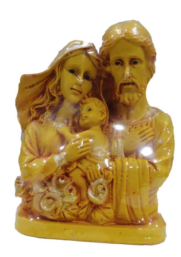 Jesuskart-Holy Family Mat Finish glitter plated