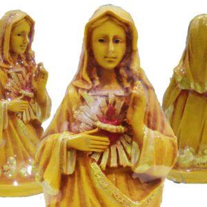 Jesuskart- Sacred Heart of Mary Statue-6.7 inch