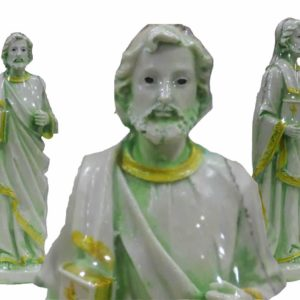 Jesuskart-St Peters Statue matt finish-7.9-inch bl