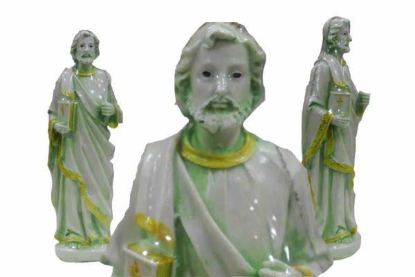 Jesuskart-St Peters Statue matt finish-7.9-inch bl