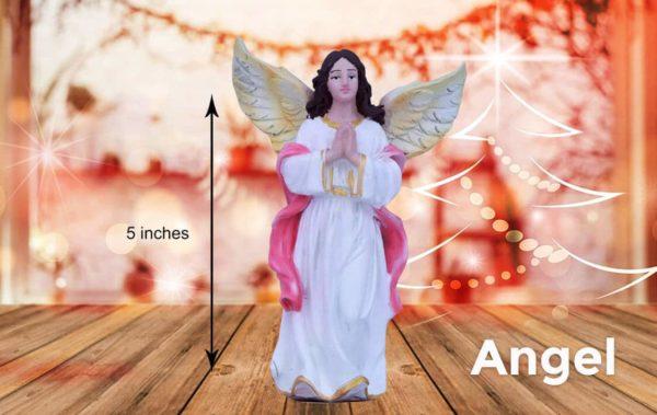 jesuskart 5 inch nativity set angel