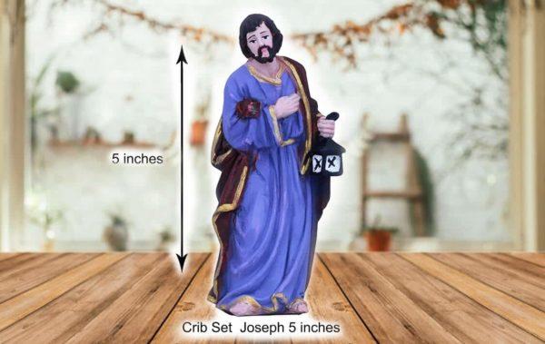 jesuskart 5 inch nativity set joseph