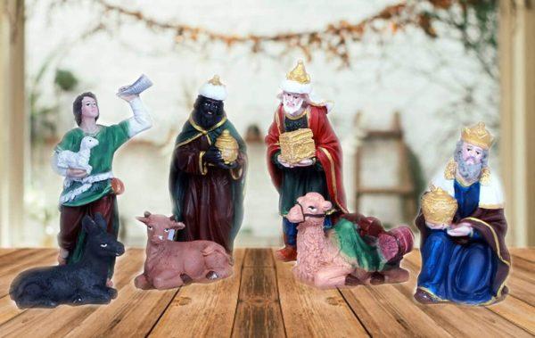 jesuskart-5 inch nativity set three kings