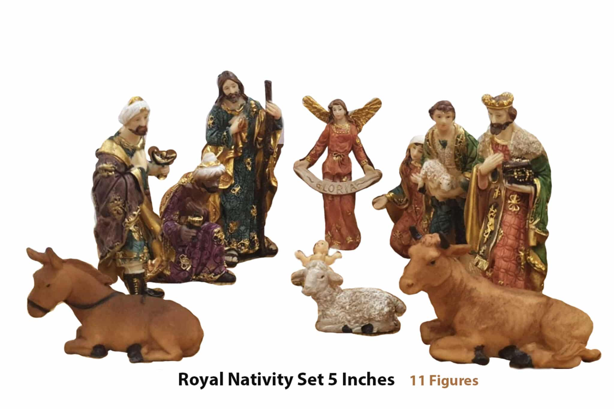 Christmas Nativity Set 5 inches
