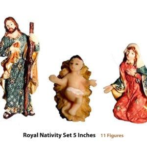 5 inch Nativity set online